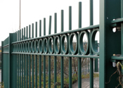 Steel Railings for Security Fencing