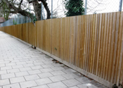 Closeboard & Timber  Palisade Fences